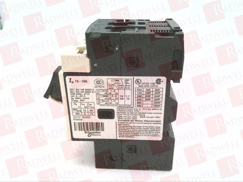 SCHNEIDER ELECTRIC GV2ME20 1
