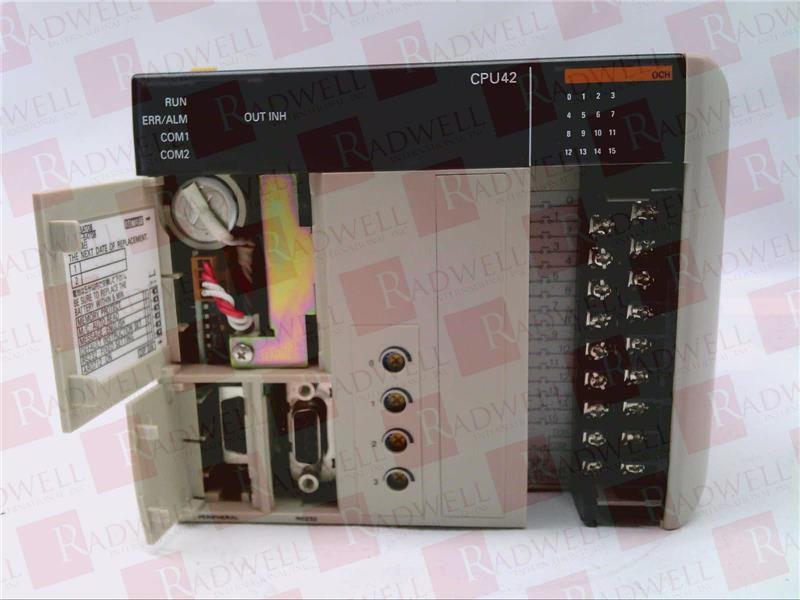 OMRON CQM1-CPU42-E 1