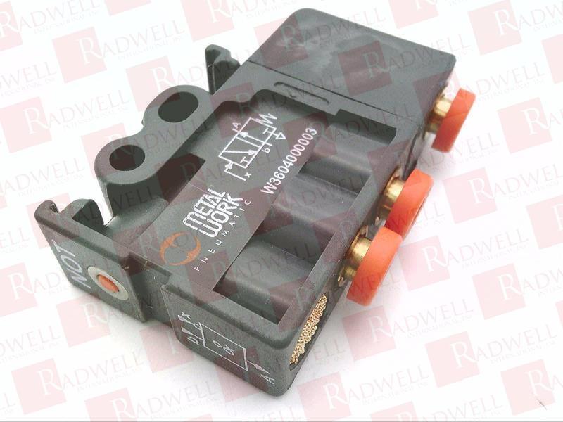 W3604000003 by METAL WORK PNEUMATIC - Buy or Repair at ...