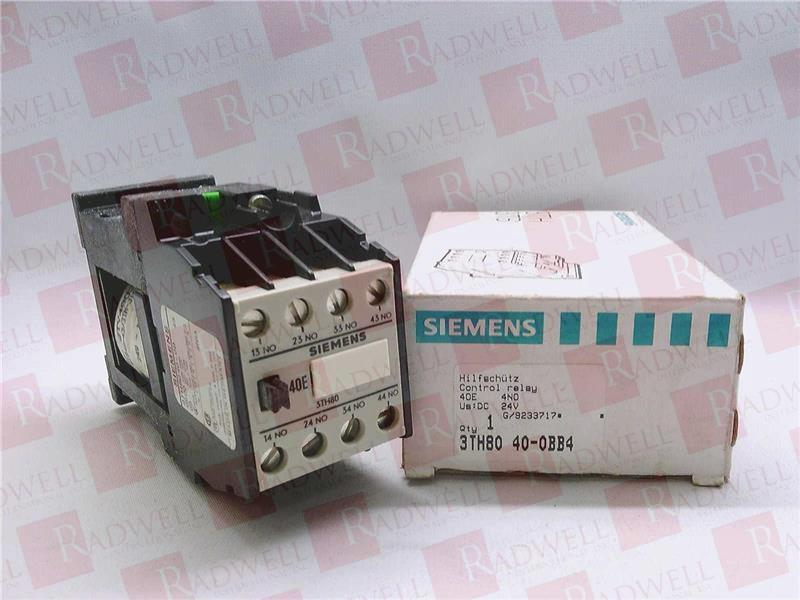 SIEMENS 3TH8040-0BB4 1
