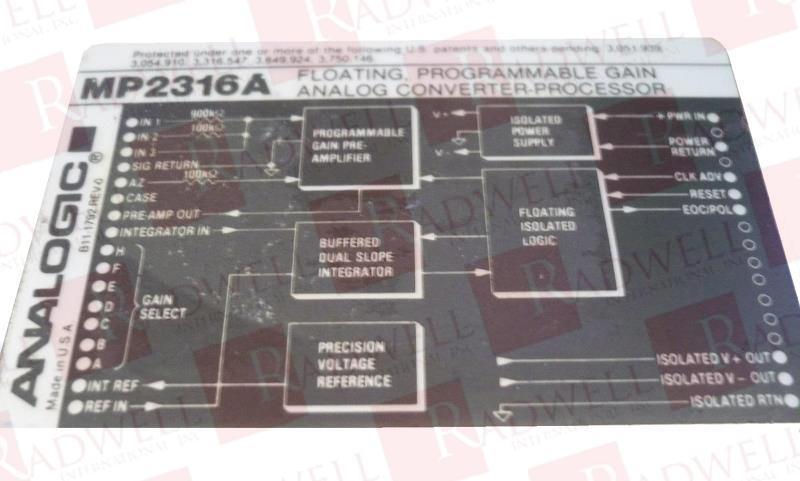 ANALOGIC MP2316A