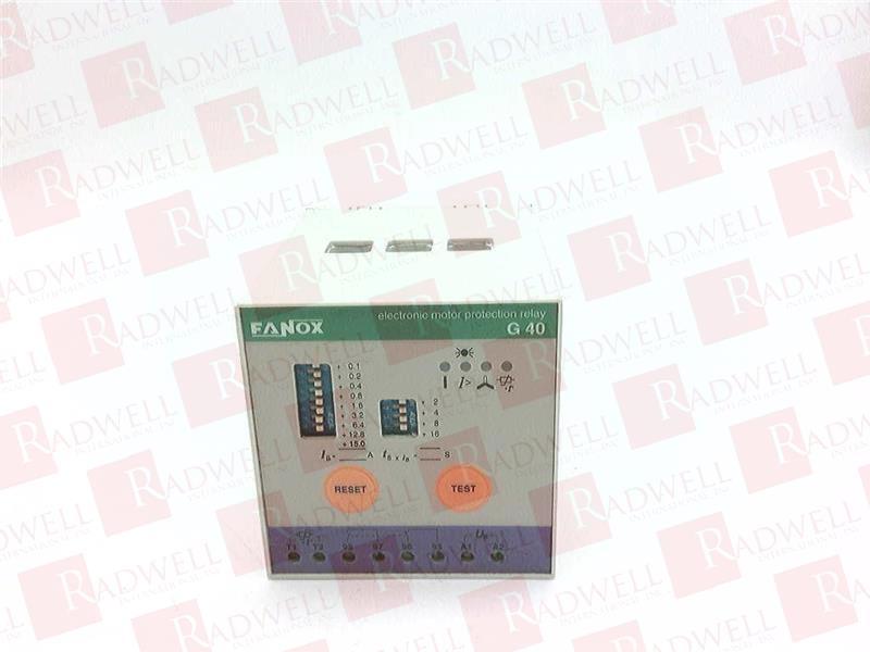 FANOX G40 1