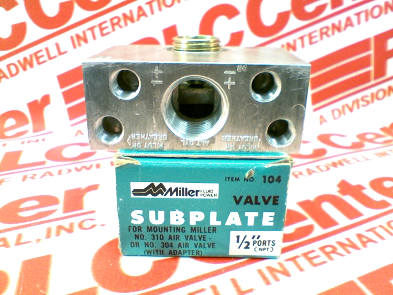 MILLER FLUID POWER 310-104