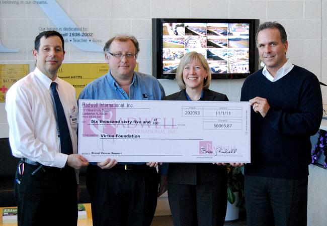 Insgesamt haben wir über 6.000$ für die Brustkrebsforschung gesammelt.