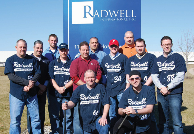 We support numerous recreational sports teams made up of our employees.