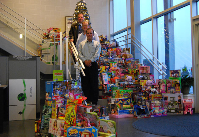 Toy Drive 2011 was a lot of fun. We donated over 400 toys to local charities.